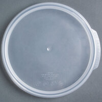 Cambro RFS2SCPP190 Camwear Translucent Round Seal Cover for Clear Camwear Containers