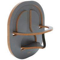 Chair Nest CN3007 Dark Gray Laminate Wooden Child Safety Seat