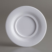 American Metalcraft DS5WH Jane Collection 5 1/2 inch White Round Melamine Saucer