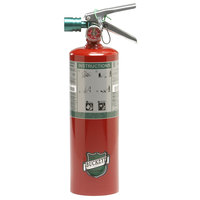 Buckeye 5.5 lb. Halotron Fire Extinguisher - Rechargeable Untagged with Wall Mount - UL Rating 5-B:C