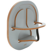 Chair Nest CN3011 Light Gray Laminate Wooden Child Safety Seat