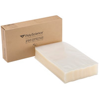 PolyScience VBF-0610 6 inch x 10 inch Cook-In Heat Seal Vacuum Bag   - 250/Case