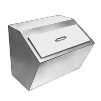 Delfield 240 Drop In Stainless Steel Ice Chest / Bin with Cover
