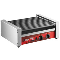 Avantco RG1830NS 30 Hot Dog Roller Grill with 11 Non-Stick Rollers - 120V, 910W