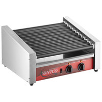 Avantco RG1830SLT 30 Slanted Hot Dog Roller Grill with 11 Non-Stick Rollers - 120V, 910W