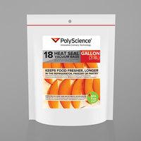 PolyScience VBC-1116 11 inch x 16 inch Gallon Heat Seal Corrugated Vacuum Bag - 18/Case