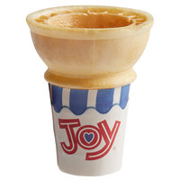 Joy #30 Jacketed Cake Ice Cream Cone for Dispenser - 600/Case