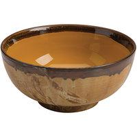 Homer Laughlin 106241842 Fresco Hues Goldenrod 56 oz. Large China Noodle Bowl - 6/Case