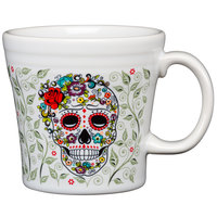Homer Laughlin 147541823 Skull and Vine Sugar 15 oz. Tapered Mug - 12/Case