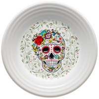 Homer Laughlin 46541823 Skull and Vine Sugar 9 inch Luncheon Plate - 12/Case