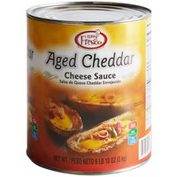 Real Fresh Aged Cheddar Nacho Cheese Sauce #10 Can