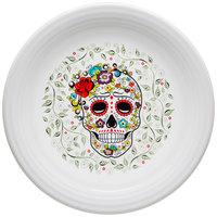 Homer Laughlin 46741823 Skull and Vine Sugar 11 3/4 inch Plate - 4/Case