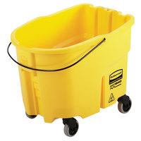Rubbermaid 2064996 WaveBrake® 26 Qt. Yellow Mop Bucket