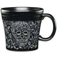 Homer Laughlin 147541590 Skull and Vine Foundry 15 oz. Tapered Mug - 12/Case