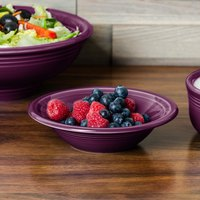 Homer Laughlin 472343 Fiesta Mulberry 11 oz. Stacking China Cereal Bowl - 12/Case