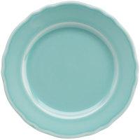 Homer Laughlin 54141915 Terrace Aqua 6 1/4 inch China Plate - 36/Case