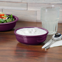 Homer Laughlin 460343 Fiesta Mulberry 14.25 oz. Small China Nappy Bowl - 12/Case