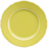 Homer Laughlin 54241913 Terrace Citrus 7 1/4 inch China Plate - 36/Case