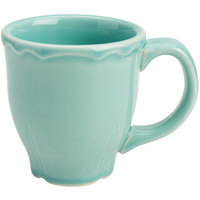 Homer Laughlin 106541915 Terrace Aqua 10 oz. China Mug - 36/Case