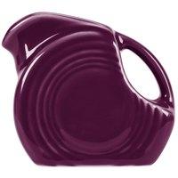 Fiesta Tableware from Steelite International HL475343 Mulberry 5 oz. Mini Disc China Creamer Pitcher - 4/Case