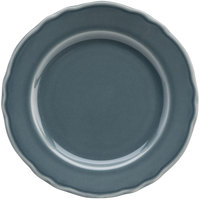 Homer Laughlin 54141914 Terrace Gray 6 1/4 inch China Plate - 36/Case
