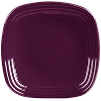 Homer Laughlin 920343 Fiesta Mulberry 9 1/8 inch Square China Luncheon Plate - 12/Case