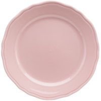 Homer Laughlin 54841916 Terrace Pink 10 5/8 inch China Plate - 12/Case