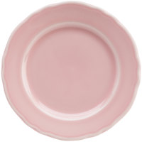 Homer Laughlin 54141916 Terrace Pink 6 1/4 inch China Plate - 36/Case