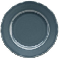 Homer Laughlin 54241914 Terrace Gray 7 1/4 inch China Plate - 36/Case