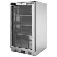 Beverage-Air CT96HC-1-S-MR Stainless Steel Countertop Display Refrigerator with Swing Door