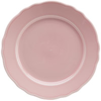 Homer Laughlin 54441916 Terrace Pink 9 inch China Plate - 24/Case