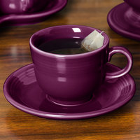 Homer Laughlin 470343 Fiesta Mulberry 5 7/8 inch China Saucer - 12/Case