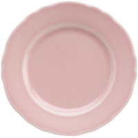 Homer Laughlin 54241916 Terrace Pink 7 1/4 inch China Plate - 36/Case