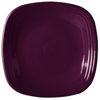 Homer Laughlin 919343 Fiesta Mulberry 10 3/4 inch Square China Plate - 12/Case