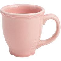 Homer Laughlin 106541916 Terrace Pink 10 oz. China Mug - 36/Case