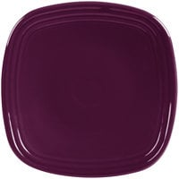 Homer Laughlin 921343 Fiesta Mulberry 7 3/8 inch Square China Salad Plate - 12/Case