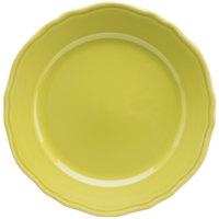 Homer Laughlin 54841913 Terrace Citrus 10 5/8 inch China Plate - 12/Case