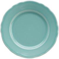 Homer Laughlin 54241915 Terrace Aqua 7 1/4 inch China Plate - 36/Case