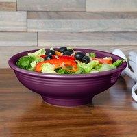 Fiesta Tableware from Steelite International HL765343 Mulberry 2 Qt. China Pedestal Serving Bowl - 4/Case