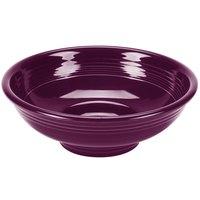 Homer Laughlin 765343 Fiesta Mulberry 2 Qt. China Pedestal Serving Bowl - 4/Case