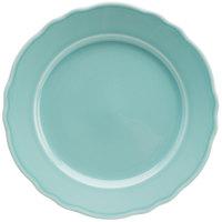 Homer Laughlin 54441915 Terrace Aqua 9 inch China Plate - 24/Case