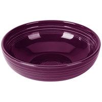 Homer Laughlin 1459343 Fiesta Mulberry 68 oz. Large China Bistro Bowl - 4/Case