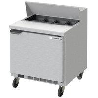 Beverage-Air SPE32HC-08 Elite 32 inch 1 Door Refrigerated Sandwich Prep Table