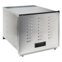 Proctor Silex 78450 10 Tray Stainless Steel NSF Commercial Food Dehydrator - 120V, 1200W
