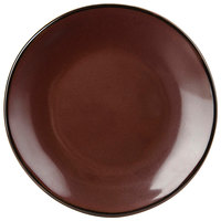 Tuxton GAR-003 TuxTrendz Artisan Red Rock 7 1/4 inch China Plate - 24/Case