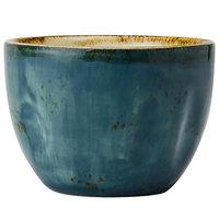 Tuxton GGE-042 TuxTrendz Artisan Geode Azure 8 oz. China Bouillon Cup - 24/Case