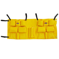 Rubbermaid 2032951 Slim Jim Yellow Vinyl Caddy Bag for 16 and 23 Gallon Trash Cans