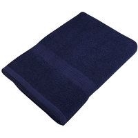 25 inch x 52 inch 100% Ring Spun Cotton Navy Bath Towel 10.5 lb. - 12/Pack