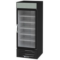Beverage-Air MMF27HC-1-B Marketmax 30 inch Black Glass Door Merchandising Freezer - 26.57 Cu. Ft.