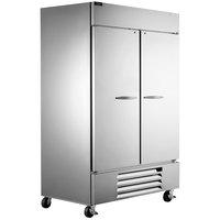 Beverage-Air HBF49HC-1-S Horizon Series 52 inch Solid Door Reach-In Freezer with LED Lighting - 47 cu. ft.